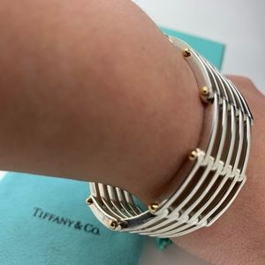 Tiffany & Co.925 750-18 KT Bracelet